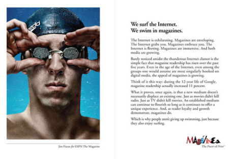 Magazine Publishers Team up to Buy Ads Promoting Magazines    in