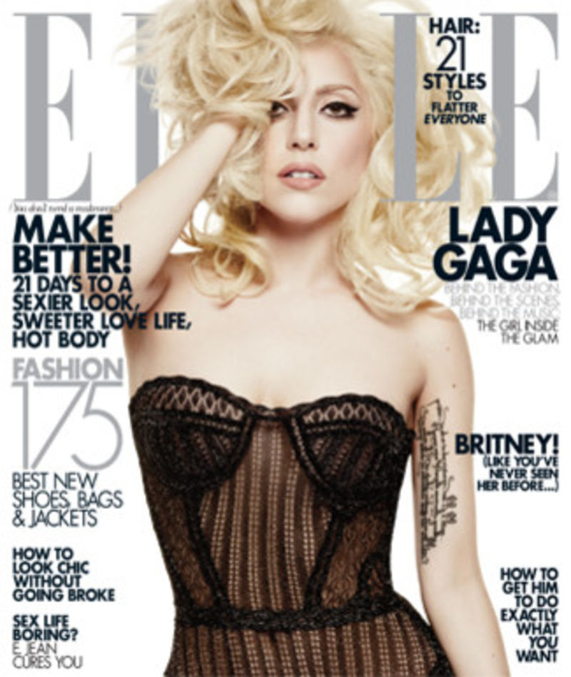 The Search For Lady Gaga's Penis: Elle Magazine Edition