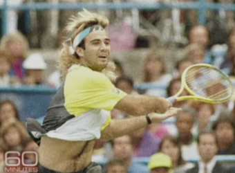 28e2cc3e1f Lucky Katie Couric scored the tell-all interview timed to coincide with Andre  Agassi's tell-all memoir, where the ex-tennis star cops to ruining his  career ...