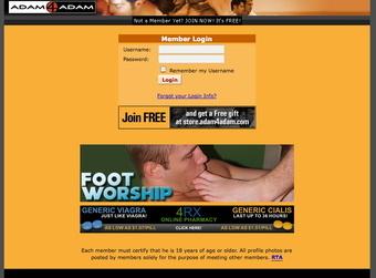adam4adam login page
