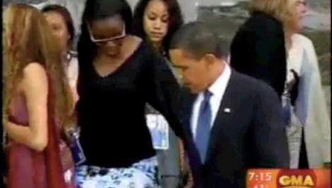 Obama girl ass