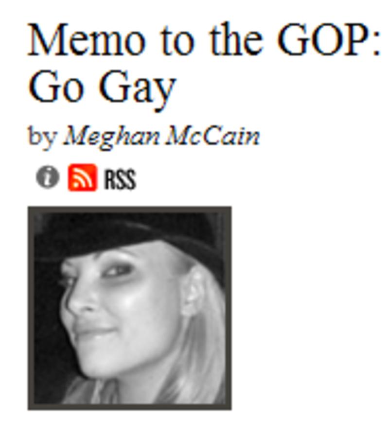 Meghan Mccain On Gay Marriage: Log-cabin-republicans