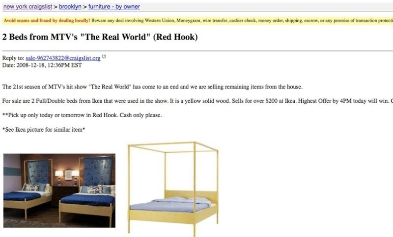 Buy the Luv-Beds from the <i>Real World Brooklyn</i>