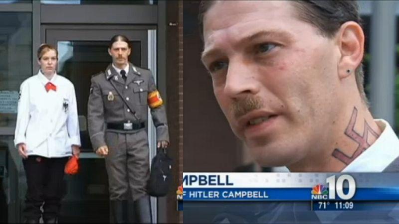 Fabulous Father Of Boy Named Adolf Hitler Wears Nazi Uniform To Custody Hearing Funny Birthday Cards Online Inifofree Goldxyz