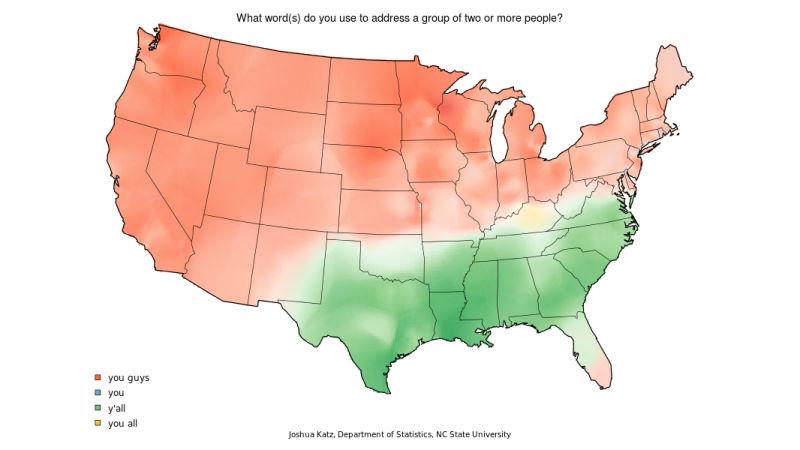 Caramel Pronunciation Map on