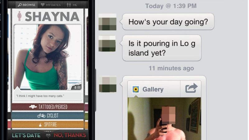 Cocky Guy Sends Woman Unsolicited Dick Pic, Woman Sends It To His Mom-2366