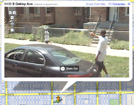 Google Maps Catches Chicago Kid About To Shoot Someone on