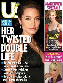 Angelina Jolie Is A Hypocrite And A Bad Mom Says Us