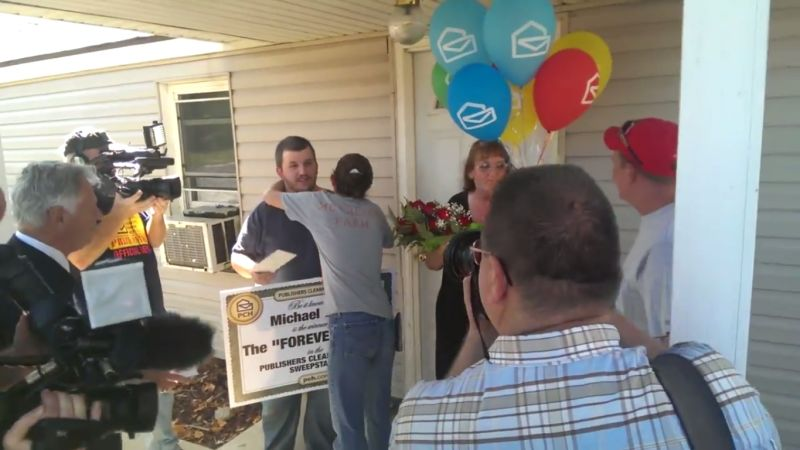 World Stunned As Actual Person Wins Publishers Clearing House Prize