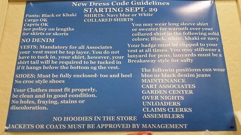 Walmart Employee Handbook Policies