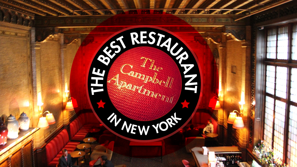 The Best Restaurant In New York Is Grand Central S Campbell Apartment