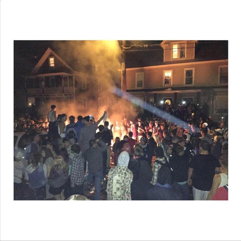 Cops Arrest Dozens of Bros After Pumpkin Festival Devolves