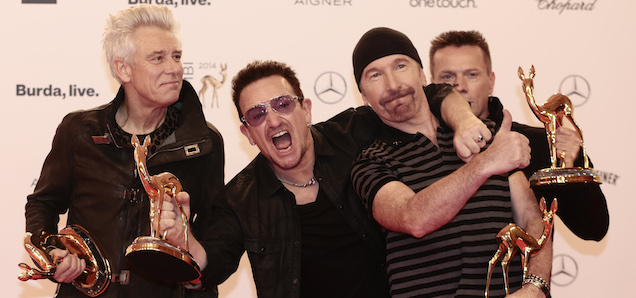 Some Dummies Bought a U2 Album This Weekend and Got a Tool EP Instead