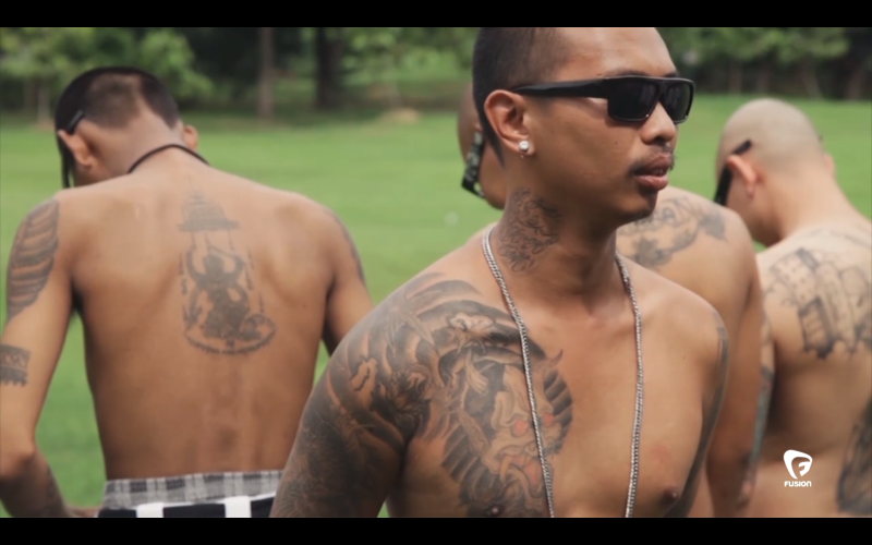 Why Are So Many Thai Men Suddenly Dressing Up As Mexican Gangsters