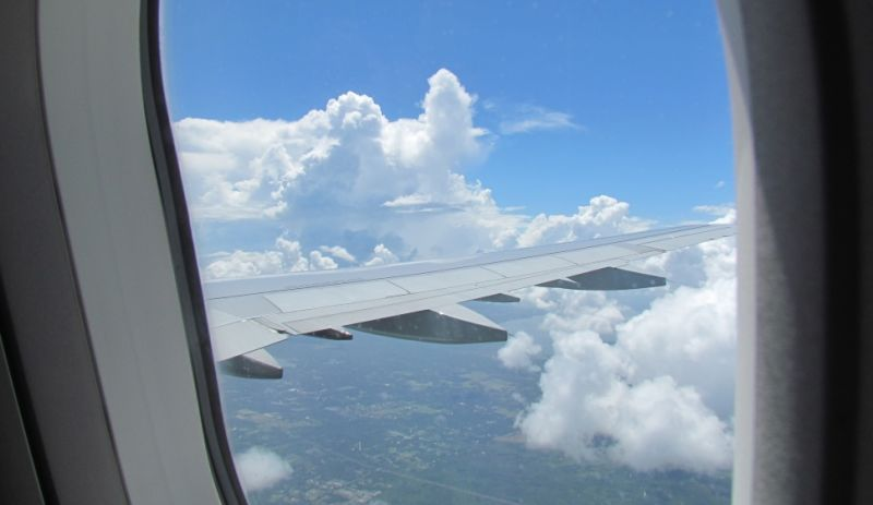 Stop Complaining About Flying and Look Out the Window