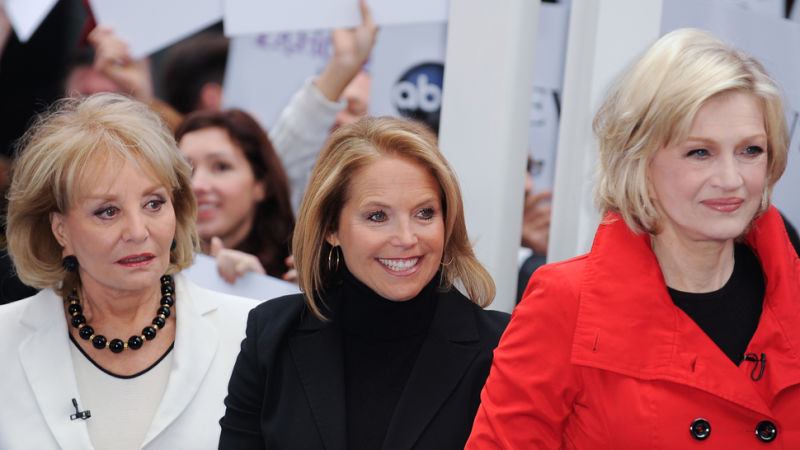 Did Katie Couric Accuse Diane Sawyer Of Handing Out Bjs border=