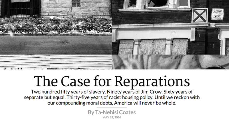 the case for reparations essay
