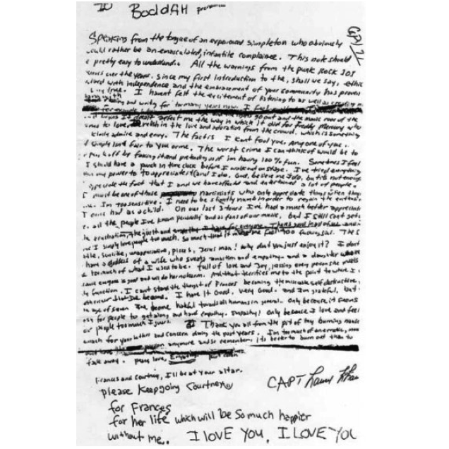 12 Crazy Conspiracies about the Death of Kurt Cobain