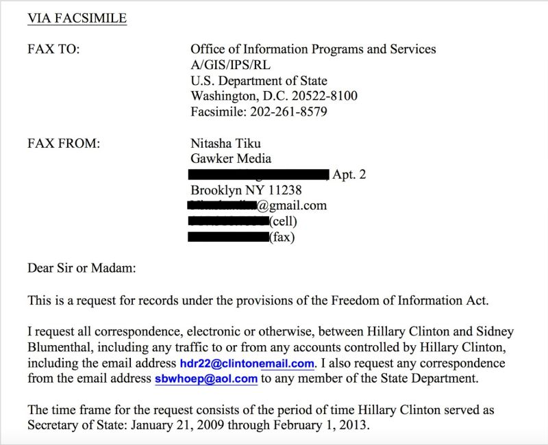 Amazing This Is Hillary Clintonu0027s Secret Email: HDR22@ClintonEmail.com