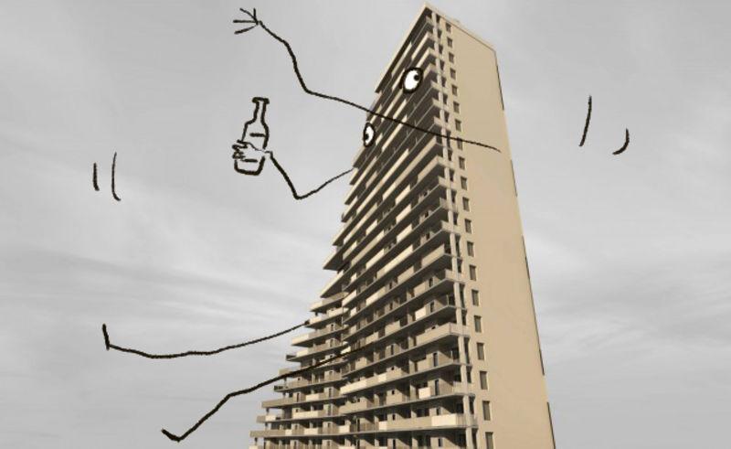 Drunk Buildings Gawker