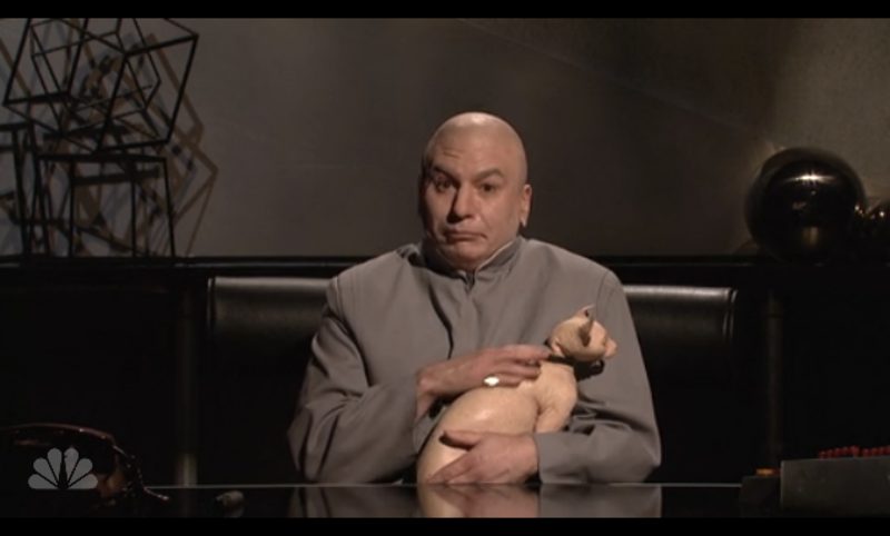Mike Myers Resurrects Dr  Evil, Addresses North Korea on <i