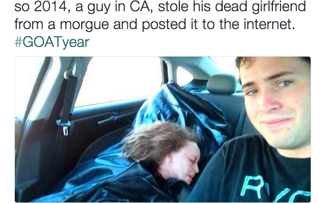 Man Takes Selfie With -7240