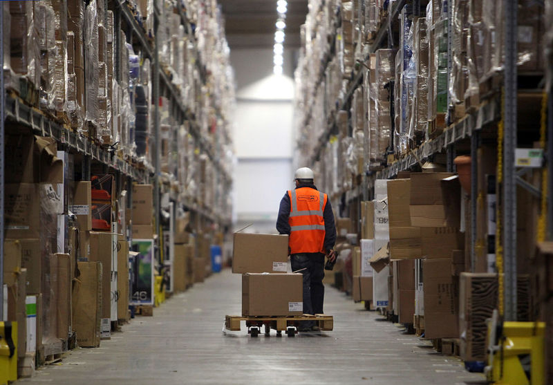 Inside an Amazon Warehouse, the Relentless Need to